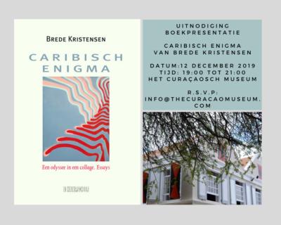Boekpresentatie: 'Caribisch Enigma' van Brede Kristensen