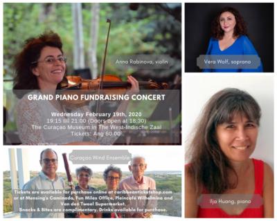 Grand piano fundraising concert
