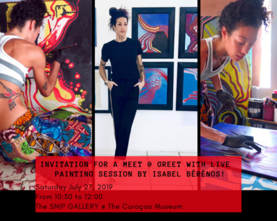 Meet @ Greet with LIVE Painting Session by ISABEL BÉRÉNOS