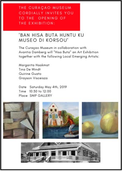 Tentoonstelling 'Ban Hisa Buta Huntu ku Museo di Korsou'