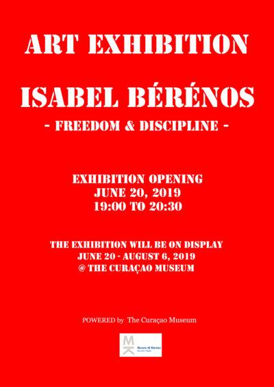 """Expositie """"Freedom & Discipline"""" van Isabel Bérénos"""