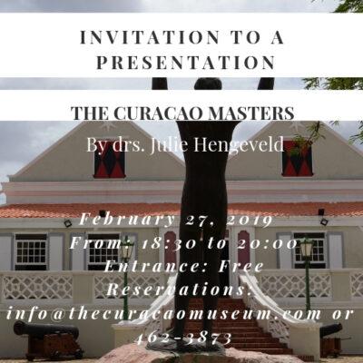 Lezing Julie Hengeveld 'The Curacao Masters'