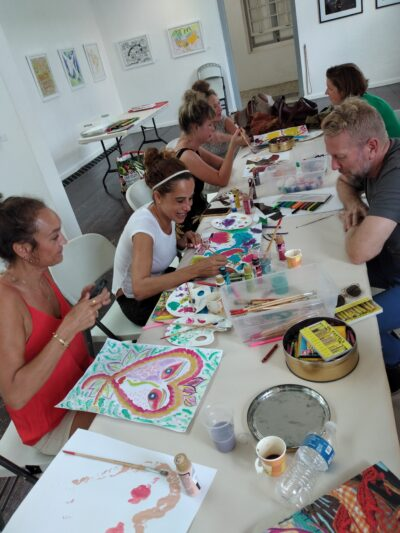 Painting Workshop with Diederik Radder