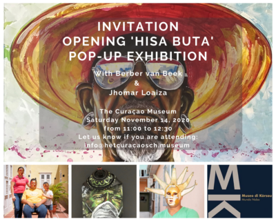 'Hisa Buta' Pop – Up Exhibition Berber van Beek & Jhomar Loaiza