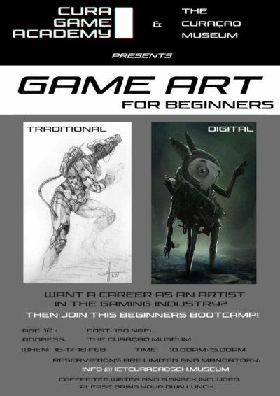 Game Art Beginners Bootcamp with Wim Houben